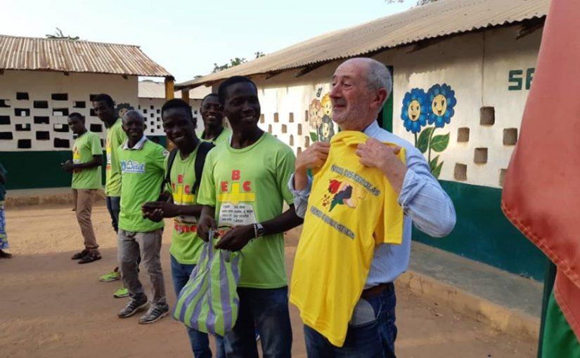 Missão em Cacine, na Guiné-Bissau