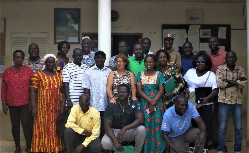 Relato de  Bissau – Formar docentes de português