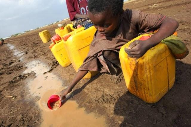 Da falta de água até ao desastre?