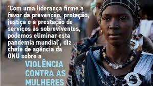 Dia Internacional para a eliminação da violência contra as mulheres (25 de Novembro)
