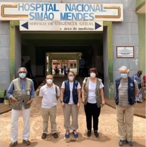 Missão conjunta SMV-MdM em Bissau
